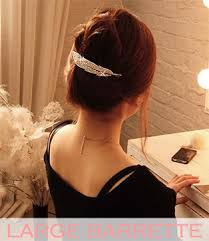 barrette hair wholesale hair accessory bridal hair large barrettes
