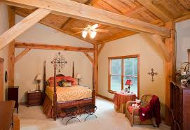 Timber Frame Bed Houston Timber Frame Home Timber Frame Residential Project