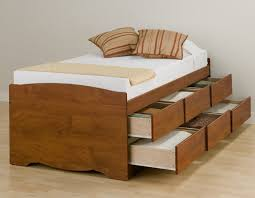 King Size Platform Bed With Storage Drawers Bed Frames King Size Bed With Storage Drawers Twin Platform Bed