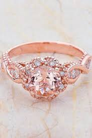 beautiful rose rings images 24 beautiful rose gold engagement rings bling pinterest jpg