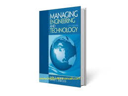 pdf managing engineering and technology solution manual 28 pages