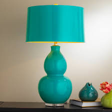 Teal Table Lamp Colorful Table Lamps Shades Of Light
