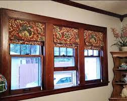 Custom Drapery Fabric Custom Roman Shades Window Treatments U0026 By Sewlovelybykelly