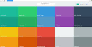 powerpoint design colors powerpoint presentations responsive color palette tool flatuicolors