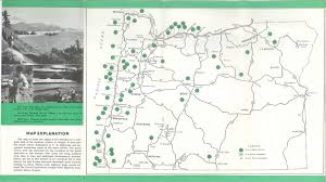 oregon state parks map oregon map