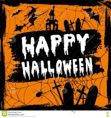 happy halloween hanwritten stock vector image 77739293
