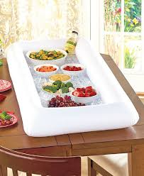 inflatable buffet salad bar ice cooler picnic drink table party