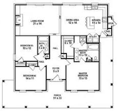 2 Bedroom House Plans Open Floor Plan Plan 44091td Designed For Water Views Scale Bedrooms And Kitchens