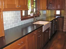 glass subway tiles for kitchen backsplash subway tile kitchen backsplash edges the home redesign chic