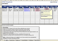 Excel Crm Template Business Templates Small Business Spreadsheets And Forms