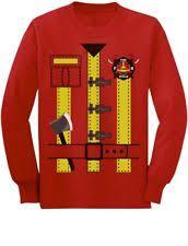 fireman costume 4t ebay