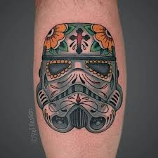 10 epic stormtrooper sugar skull tattoos tattoodo