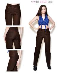brown leather pants 90s vintage pants country buffalo leather