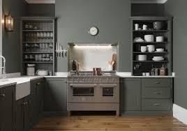Open Kitchen Shelf Ideas Decorating Ideas Dark Green Matte Kitchen Open Shelving Decorating