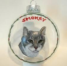 cat handmade ornaments ornaments