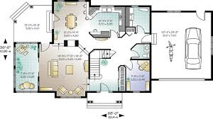 small open concept house plans open floor plans small home open
