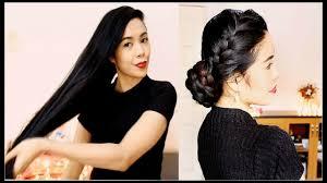 quick u0026 easy date night braided hairstyle hair tutorial