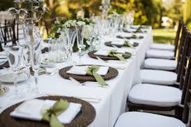 wedding table rentals q a with cheryl fleming rentals and table setting and waitstaff oh my