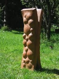 wood sculpture by sculptor mirosław struzik titled splinters
