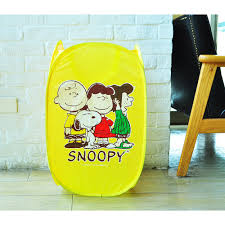 laundry hamper collapsible peanuts snoopy collapsible mesh laundry hamper breathable yellow