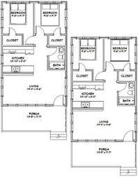 2 Bedroom 1 Bath House Plans House Plans Queensland Granny Flat Plans One Bdrm Floor Plan