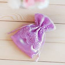 purple gift bags stylish and purple satin lace gift bags for wedding