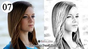 pencil photo editor photo effect 07 photoshop pencil drawing sketch effect