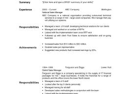 Free Australian Resume Template 100 Free Templates For Resumes To Print The Australian Resume