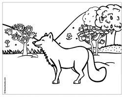 wildlife coloring pages virtren com