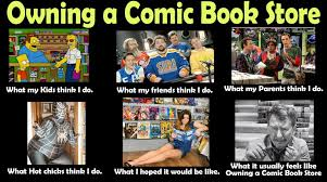 Book Of Memes - what i do meme owning a comic book store graphic policy