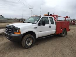 Ford F250 Service Truck - online only unreserved construction equip auction in on mb ab