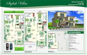 100 home design for 8 marla double storey house plans for