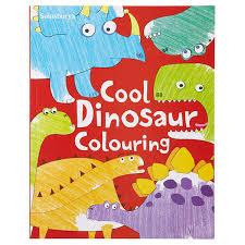 sainsbury u0027s cool dinosaurs colouring book sainsbury u0027s
