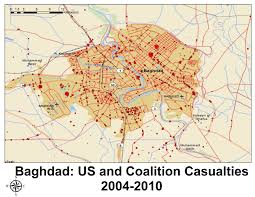 Baghdad Map Wikileaks Iraq War Diary 2004 2009 Part 1 Freewheel Burning