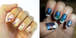 10 best easy u0026 simple christmas tree nail art designs ideas