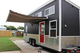 24 tiny house on wheels relax shack model manor grey micro 1a 2a