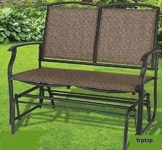 Swings And Gliders Patio Furniture by Wicker Glider Patio Furniture Bar Harbor Loveseat Glider Wicker