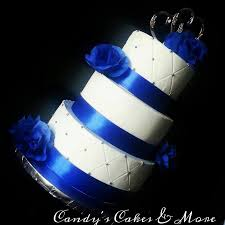 royal blue and silver wedding 10 royal blue wedding cakes buttercream photo royal blue and