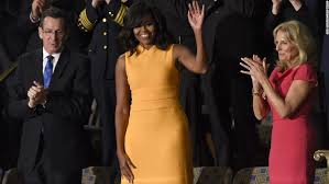 does michelle obama wear hair pieces michelle obama s dress at state of the union draws raves cnn