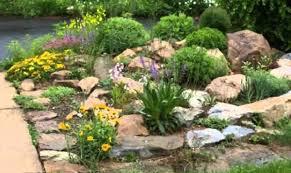 classy rock garden ideas river rock garden ideas to imposing size