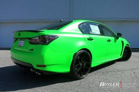 lexus green lexus gs f with 21in savini bm14 wheels exclusively from butler