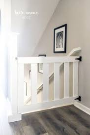 how to make a baby gate from an old wood door or a dog gate