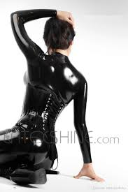 black women u0027s full body latex catsuit women full bodysuit