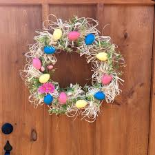 Springtime Wreaths 35 Simple Easter Porch Decor Ideas That You U0027ll Love