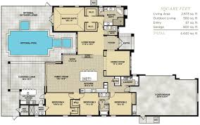 home floor plans with swimming pool