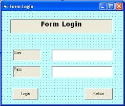 membuat form login dengan ms access 2007 membuat form login dengan vb