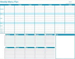 Meal Plan Excel Template The 25 Best Weekly Meal Planner Template Ideas On