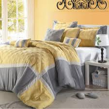 Grey And Yellow Duvet 126 Best Yellow And Gray Bedding Images On Pinterest