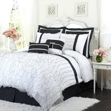 solid white comforter set white ruffle bedding set bedroom luxury embossed solid oversized