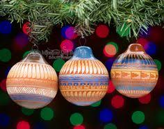 american painted ornaments 3 set o1 painted